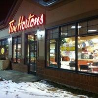 Photo taken at Tim Hortons by Joshua H. on 3/3/2012