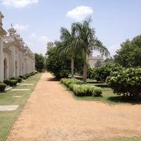Photo taken at Chowmahala Palace by Kiran V. on 6/9/2012