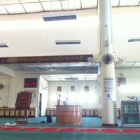 Photo taken at Surau PSMZA by Prince Hafizul on 4/10/2012