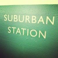 Photo taken at SEPTA Suburban Station by Helena on 7/20/2012