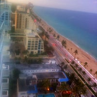 Photo taken at Hilton Fort Lauderdale Beach Resort by Carlos O. on 8/19/2012