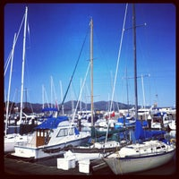 Photo taken at SF Marina Yacht Harbor by Dawn D. on 2/25/2012