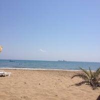 Photo taken at BOTAŞ Plajı by Samet K. on 7/19/2012
