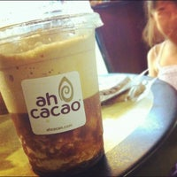 Photo taken at Ah Cacao Chocolate Café by Alina P. on 7/22/2012