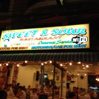 Photo taken at Sweet & Sour Restaurant by Victor B. on 4/9/2012