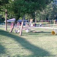 Photo taken at Byron Sesquicentennial Park by Anastasia E. on 6/7/2012