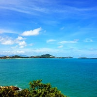 Photo taken at Lad Koh Viewpoint Samui Island by Geoffrey W. on 2/28/2012