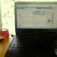 Photo taken at Cafe Janur & hotspot by Nicha J. on 6/18/2012