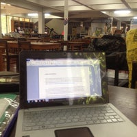 Photo taken at Main Library by Rufhi M. on 5/2/2012