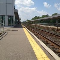 Photo taken at Port Credit GO Station by Najja C. on 6/21/2012