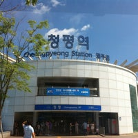 Photo taken at Cheongpyeong Stn. by Su Young C. on 7/7/2012
