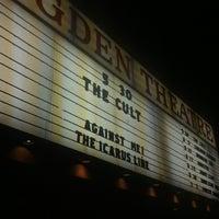 5/31/2012 tarihinde Gavin O.ziyaretçi tarafından Ogden Theatre'de çekilen fotoğraf