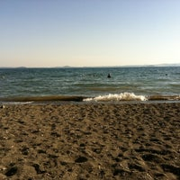 Photo taken at Spiaggia Libera Lago di Bolsena by Mikko J. on 7/9/2012