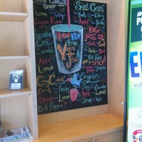 Photo taken at Robeks Fresh Juices & Smoothies by Michelle B. on 5/16/2012