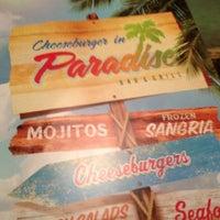 Photo taken at Cheeseburger in Paradise - Pasadena, MD by Shakétta D. on 2/20/2012