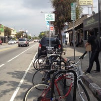 Photo taken at York Blvd. and Ave. 50 Bike Corral by JoJo P. on 5/4/2012