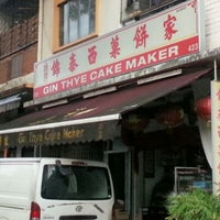 Photo taken at Gin Thye Cake Maker by Brian H. on 8/10/2012
