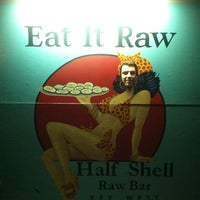 Photo taken at Half Shell Raw Bar by Ann E. on 3/10/2012