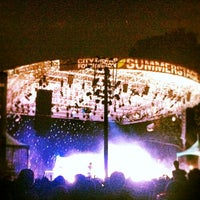 Photo taken at Central Park SummerStage by Siobhan on 8/9/2012