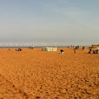 Photo taken at Skegness Beach by Jeremy M. on 3/24/2012