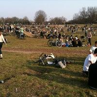 Photo taken at Görlitzer Park by Svend D. on 3/17/2012