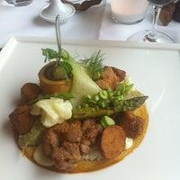 Photo taken at Restaurant Hôtel Les éleveurs by Lars C. on 6/19/2012