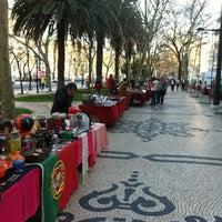 Photo taken at Avenida da Liberdade by @Maxscl - Max A. on 3/11/2012