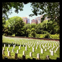 Photo taken at Alexandria National Cemetery by Tim F. on 6/3/2012