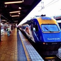 Photo taken at Central Station (Platforms 4 & 5) by Kenta F. on 7/18/2012