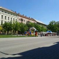Photo taken at Kossuth tér by Panni on 5/11/2012