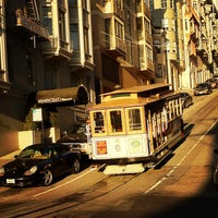 Photo taken at Hyde Street Cable Car by Lisa on 8/10/2012