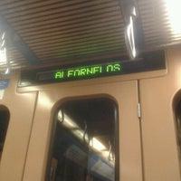 Photo taken at Metro Alfornelos [AZ] by Catarina B. on 7/19/2012