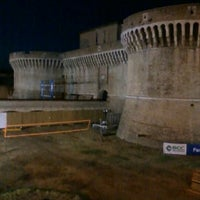 Photo taken at Rocca Roveresca by Mattia B. on 8/14/2012