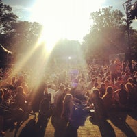 Photo taken at Central Park SummerStage by Patrick D. on 6/16/2012