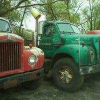 Photo taken at Tramell trucking yard by Michael J. W. on 4/20/2012
