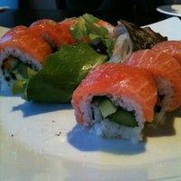 Photo taken at Kanpai Japanese Sushi Bar & Grill by Matt K. on 5/25/2012