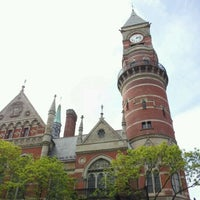 Photo taken at New York Public Library - Jefferson Market by Alexander S. on 4/28/2012