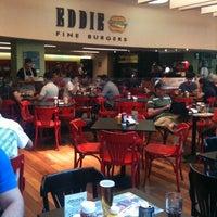 Photo taken at Eddie Fine Burgers by Rodrigo M. on 3/31/2012