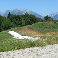 Photo taken at castelliere di Noal by Sara Valentina C. on 8/22/2012