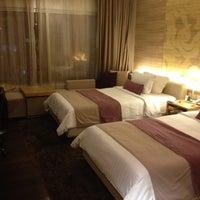 Photo taken at Pathumwan Princess Hotel by Dj P. on 5/6/2012