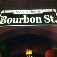 Photo taken at Bourbon Street by Mauricio on 8/5/2012