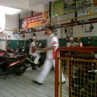 Photo taken at AHASS 6541 Sampurna Motor by Indra s. on 6/9/2012