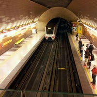Photo taken at Metro Manquehue by Juan Ramón L. on 2/9/2012