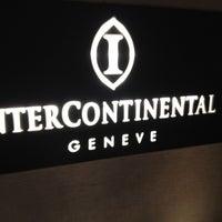 Photo taken at InterContinental Geneva by Ruslan ✈ G. on 6/15/2012