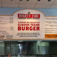Photo taken at Mighty Fine Burgers by Gino B. on 6/23/2012