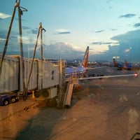 Photo taken at Concourse C by David L. on 7/15/2012