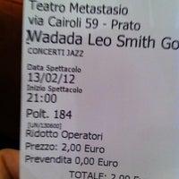 Das Foto wurde bei Teatro Metastasio von Silvia am 2/13/2012 aufgenommen
