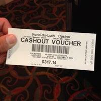 Photo taken at Fon Du Luth Casino by Laura V. on 8/3/2012