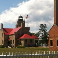 Photo taken at Old Mackinac Point Lighthouse by Katie C. on 7/7/2012