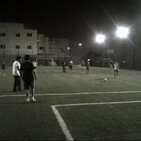 Photo taken at ملعب سلوى by Mohammad A. on 4/17/2012